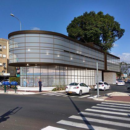 מוגן: מבנה מסחר ומשרדים – הגשת הצעה לתכנון – ק. ביאליק